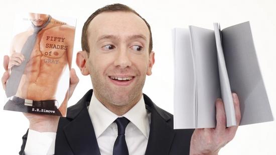 Книга «50 оттенков серого» с пустыми страницами вышла в свет