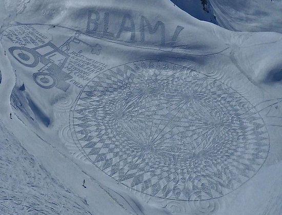 6a00d83453140969e20167688cb7a8970b 640wi Художник ногами рисует гигантские картины в снегу