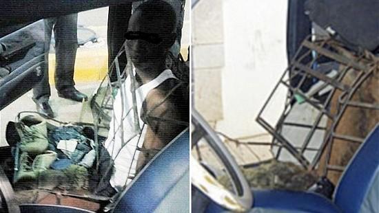 car 2350446b Нелегальный иммигрант пытался проникнуть в Испанию под видом сиденья