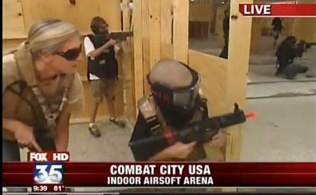 Посетители полигона во Флориде могут пострелять друг в друга из настоящего оружия