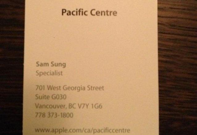 Сэм Сунг работает на Apple?