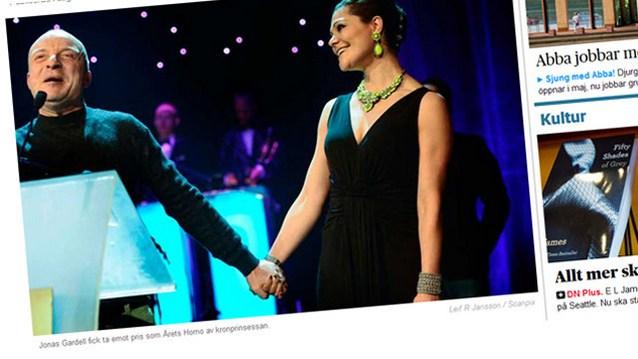 Наследница шведского престола вручила премию гею года
