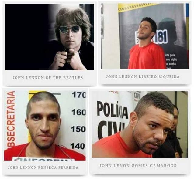 Belo Horizonte John Lennons В Бразилии арестовали трех Джонов Леннонов