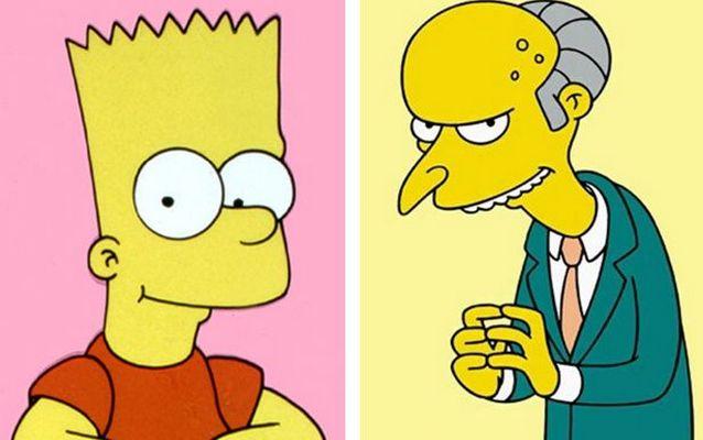 Bart Simpson and Mr Burns Бизнесмен по имени Барт Симпсон предстал перед судьей Бернсом