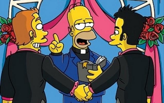 В «Симпсонах» насчитали 490 сцен о геях