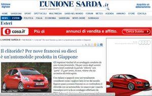 1380277704 unionsarda Тойота Клиторис. Шутливый опрос посрамил итальянские СМИ